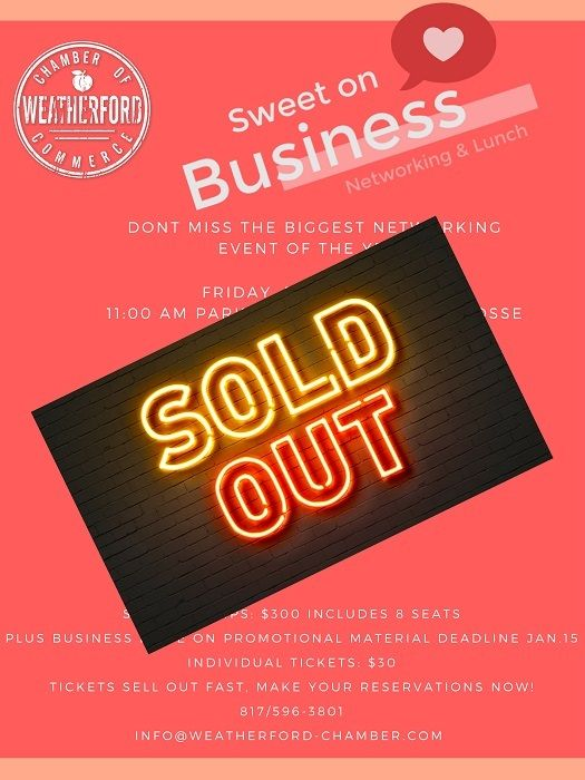 2019 sweetonbusiness soldout